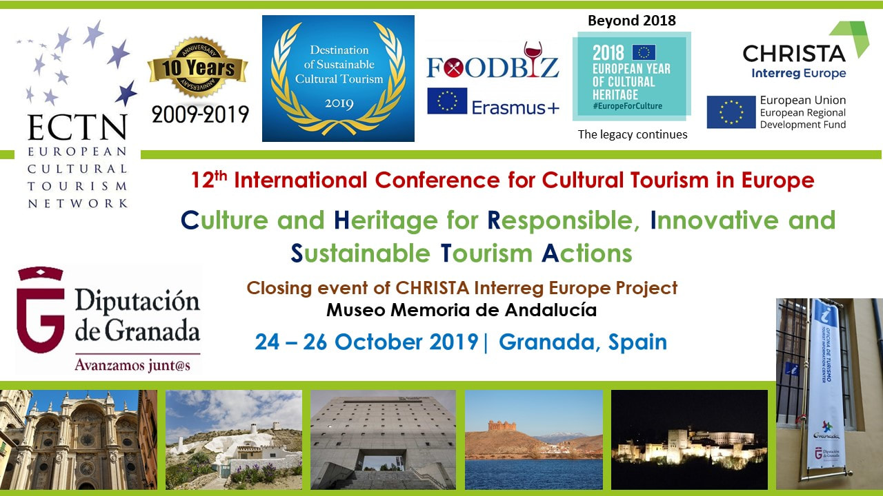 Conference 2019 - Cultural Tourism development and promotion across